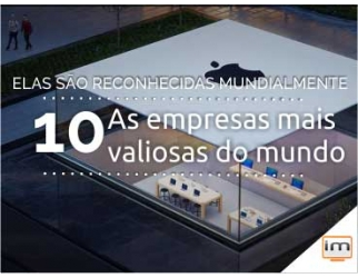 TOP 10: As Marcas mais valiosas do mundo em 2015