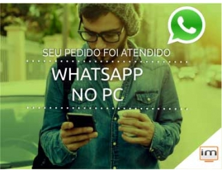 É super fácil: WHATSAPP no PC